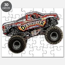 Classic Truck (light) Puzzle
