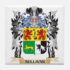 Sullivan Coat of Arms - Family Crest Tile Coaster