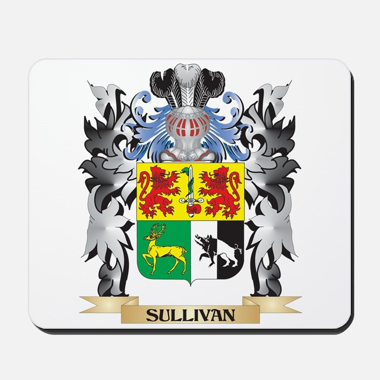 Sullivan Coat of Arms - Family Crest Mousepad
