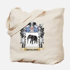 Sutcliffe Coat of Arms - Family Crest Tote Bag