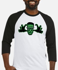Frankenstien Monster Reaching Out Baseball Jersey