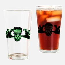 Frankenstien Monster Reaching Out Drinking Glass