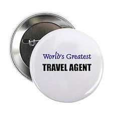 Worlds Greatest TRAVEL AGENT Button