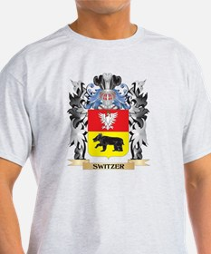 Switzer Coat of Arms - Family Crest T-Shirt
