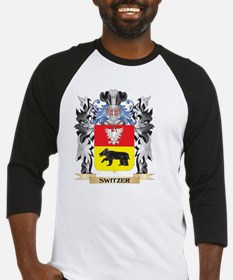 Switzer Coat of Arms - Family Cres Baseball Jersey