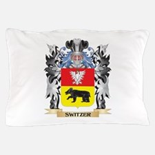 Switzer Coat of Arms - Family Crest Pillow Case