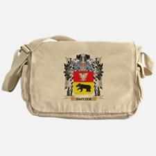 Switzer Coat of Arms - Family Crest Messenger Bag