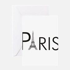 Paris Only Greeting Card