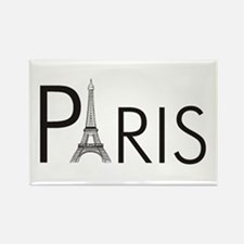 Paris Only Rectangle Magnet