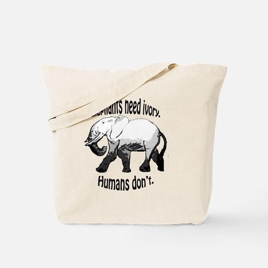 Cute I love elephants Tote Bag