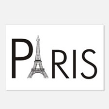 Paris Only Postcards (Package of 8)