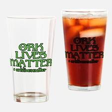 Ork Lives Matter Drinking Glass