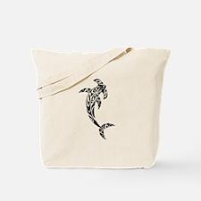 Tribal Hammerhead Shark Illustration Tote Bag