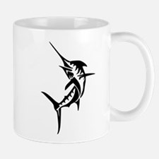 Sports Fishing Swordfish Jumping Mugs