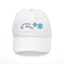 Winter Rocks Baseball Cap