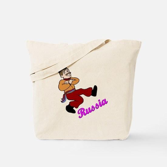 Russian Dancer Tote Bag