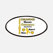 Childhood Cancer Awareness Patch