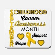 Childhood Cancer Awareness Mousepad