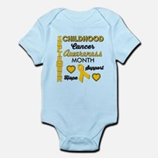 Childhood Cancer Awareness Body Suit