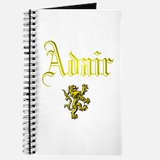 Adair. Journal