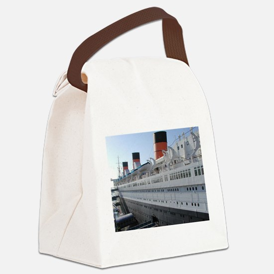 queen mary Canvas Lunch Bag