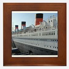 queen mary Framed Tile