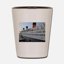 queen mary Shot Glass