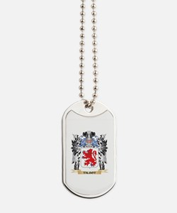 Talbot Coat of Arms - Family Crest Dog Tags