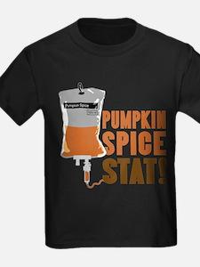 IV Pumpkin Spice Stat T-Shirt