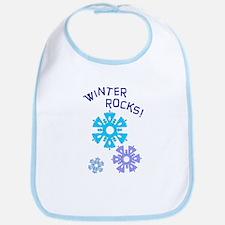 Winter Rocks Bib