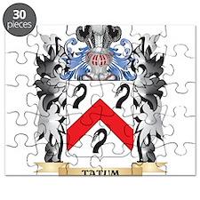 Tatum Coat of Arms - Family Crest Puzzle