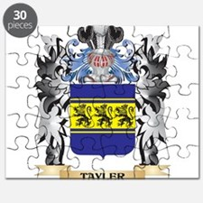 Tayler Coat of Arms - Family Crest Puzzle
