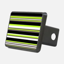 Horizontal Stripes Pattern Hitch Cover