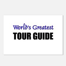 Worlds Greatest TOUR GUIDE Postcards (Package of 8