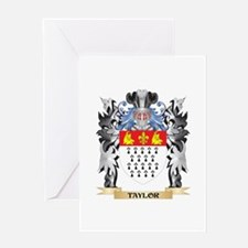 Taylor- Coat of Arms - Family Crest Greeting Cards