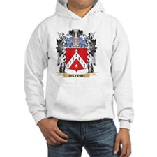 Telford Coat of Arms - Family Cr Hoodie