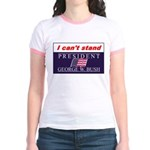 Can't Stand Bush Jr. Ringer T-Shirt