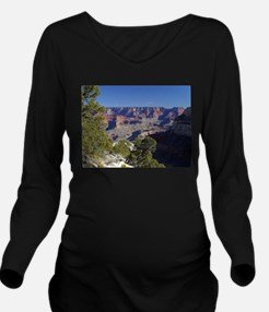 Funny Grand canyon picture Long Sleeve Maternity T-Shirt