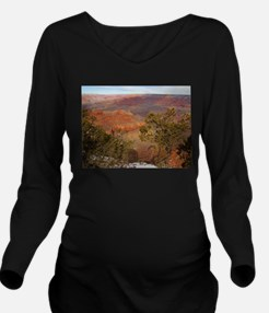 Cute Grand canyon picture Long Sleeve Maternity T-Shirt