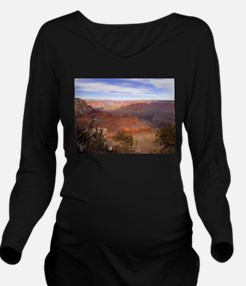 Unique Grand canyon picture Long Sleeve Maternity T-Shirt