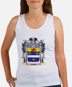 Terry- Coat of Arms - Family Crest Tank Top