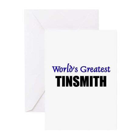 Worlds Greatest TINSMITH Greeting Cards (Pk of 10)