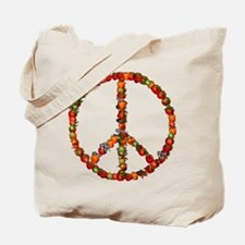 Pacifist Quote Tote Bag
