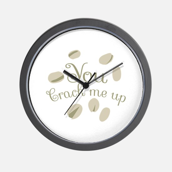 You Crack Me Up Wall Clock