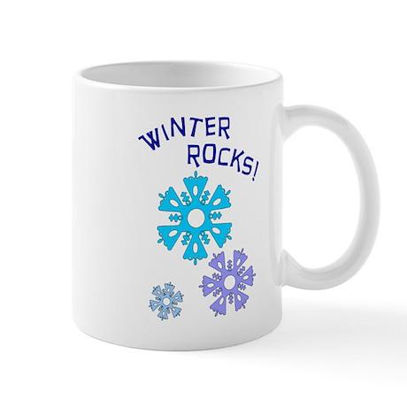 Winter Rocks Mug