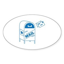 Postal Mail Decal