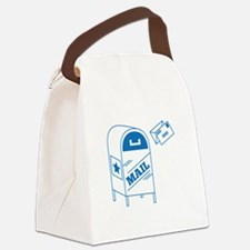 Postal Mail Canvas Lunch Bag