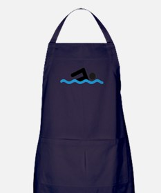 Cute Swim Apron (dark)