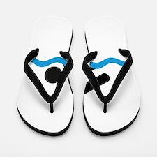 Cute Swimmer Flip Flops