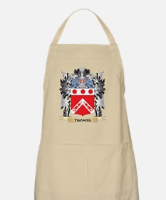 Thomas- Coat of Arms - Family Crest Apron